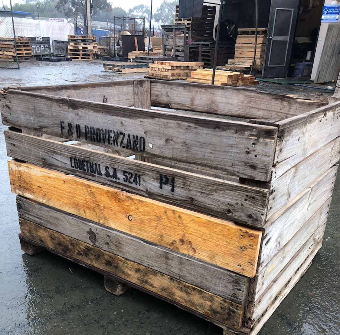 Wooden Crates Adelaide